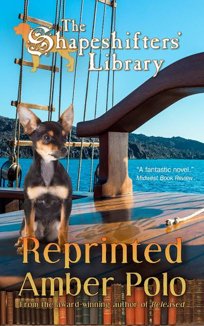 Reprinted, a book about a charming chihuahua-shifter named Pacifico Lopez.